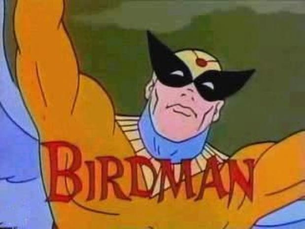 birdman cartoon