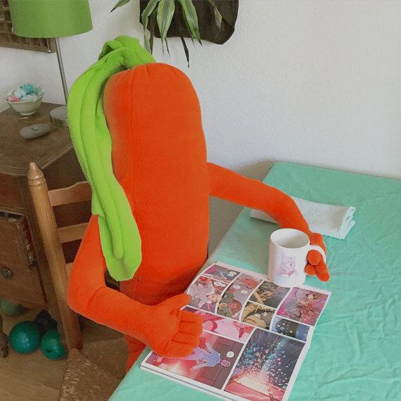carrot pillow
